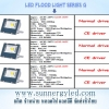 LED flood light STC-QF-FLG500W