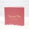 """อัลบั้ม 100 รูป (4x6"""") ลาย Minimal 01 - สั่งทำใส่ชื่อ"""
