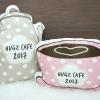 หมอนลายชุดกาแฟ / Coffee Set