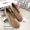 รองเท้า Loafer Style Chanel (สีครีม)