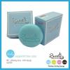 **พร้อมส่ง*Sweet Macaron Soap : Peppermint Blue (สีฟ้า) ช่วยให้ผิวสะอาดกระจ่างใส ผิวขาวผุดผ่อง ขาววิ้งค์เป็นประกาย สบู่ทำความสะอาดผิวหน้าและผิวกาย ด้วยอนูฟองที่ละเอียด ทำความสะอาดรูขุมขนได้อย่างล้ำลึก แถมฟรี ตาข่ายตีฟอง คุณภาพเยี่ยม ที่ช่วยเพิ่มประสิทธิภา