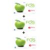 FOS Detox - อาหารเสริมดีท็อกซ์ ลดความอ้วน ฟอส กลิ่นแอปเปิ้ล # ขนาดบรรจุ 18 กรัม จำนวน 3 กล่อง (บรรจุกล่องละ 15 ซอง)