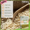 **พร้อมส่ง**Nathary White Quinoa Super Food 450 g. เมล็ดควินัว ออร์แกนิค สีขาวล้วน ตราเนธารี่ ให้สารอาหารมากกว่าธัญพืชชนิดอื่น ๆ มีโปรตีน แคลเซียม ฟอสฟอรัส แมกนีเซียม ธาตุเหล็ก และไขมันดีที่จำเป็นต่อร่างกาย มีไฟเบอร์มากกว่าข้าวกล้องถึง 2 เท่า เป็นแหล่งรวม
