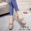 รองเท้าคัทชูทรงสวม Style Gucci (สีครีม)