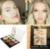 **พร้อมส่ง*City Color Contour & Correct Cream Palette พาเลทคอนทัวร์รูปหน้าสำหรับสาวๆ ที่ต้องการใบหน้าเรียวสวยได้รูปอย่างเป็นธรรมชาติ ในเซ็ตประกอบด้วย คอนทัวร์, บรอนเซอร์, ไฮไลท์, คอลซิลเลอร์ เนื้อครีมบางเบาที่สามารถเกลี่ยให้กลมกลืนกับผิวได้เป็นอย่างดี ,