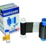 หมึกริบบอน หมึกสีดำ สำหรับเครื่องพิมพ์บัตร Magicard Pronto