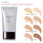 **ราคาพิเศษ**HOURGLASS Immaculate Liquid Powder Foundation Mattifying Oil Free 30 ml. รองพื้นตัวดังที่คุณไม่ควรพลาด เนื้อผลิตภัณฑ์แบบลิควิด ที่เมื่อเกลี่ยให้เนียนแล้วจะเปลี่ยนสภาพเป็นแป้งที่เนียนดุจกำมะหยี่ สูตรไร้ความมัน, กันน้ำ และต่อต้านอนุมูลอิสระ ช่ว
