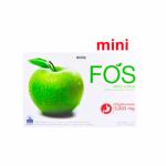 FOS Detox Mini - อาหารเสริมดีท็อกซ์ ลดความอ้วน ฟอส มินิ กลิ่นแอปเปิ้ล # ขนาดบรรจุ 18 กรัม จำนวน 1 กล่อง (บรรจุกล่องละ 5 ซอง)