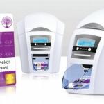 เครื่องพิมพ์บัตร PVC เครื่องพิมพ์บัตรพนักงาน MagiCard Enduro3E Dual-Sided พิมพ์ได้สองด้าน