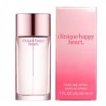 **พร้อมส่ง**Clinique Happy Heart Perfume Spray ไซส์จริง 30ml. เร้าอารมณ์ความรู้สึกจากส่วนลึกของหัวใจด้วยความหอมของกลีบดอกไม้ ให้กลิ่นสดชื่น สบายของไอเย็นจากยอดเขา เสริมด้วยกลิ่นหวานซ่อนเปรี้ยวของส้ม (Mandarin) พร้อมเพิ่มความโดดเด่นเฉพาะของความเป็นผู้ ,