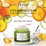 **พร้อมส่ง**Fresh Vitamin Nectar Moisture Glow Face Cream ขนาดทดลอง 7ml. ครีมบำรุงผิวและมอบความชุ่มชื้น ฟื้นบำรุงผิวที่อ่อนล้าให้กลับมาสดใส เปล่งประกาย มีสุขภาพดี ผสานคุณค่าจากไวตามินฟรุทคอมเพล็กซ์ ช่วยคืนความสดใสมีชีวิตชีวาให้กับผิวที่หมองคล้ำและอ่อนล้า