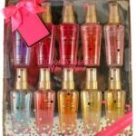 ** พร้อมส่ง **Victoria's Secret More is Merrier Fragrance Mist 10 pcs Set Gift ขนาดพกพา 60 ml. (ปกติ 250 ml.) เซ็ทสเปร์ยน้ำหอมที่รวม 10 กลิ่นหอมขายดีของแบนรด์นี้เลยคะ บรรจุในกล่องสีทองหรูหรา เหมาะเป็นของขวัญของฝาก หรือจะซื้อเก็บไว้ใช้เองก็คุ้มสุดๆ แต