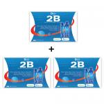 ผลิตภัณฑ์เสริมอาหาร ลดน้ำหนัก 2B (ทูบี) DiS 2B ( Block & Burn ) - ไดเอส ทูบี ( บล็อก & เบิร์น ) 3 กล่อง (1 กล่อง บรรจุ 30 แคปซูล) สำเนา