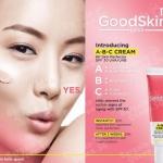 **พร้อมส่ง**GoodSkin Labs A-B-C CREAM 8H Skin Perfector SPF 30 UVA/UVB 30 ml. นวัตกรรมใหม่ของผลิตภัณฑ์ตระกูล BB และ CC ด้วยพิกเม้นท์เนื้อบางเบาแต่อุดมไปด้วยคุณประโยชน์ของแร่ธาตุ ช่วยเพิ่มความกระจ่างใส จึงช่วยแก้ไขปัญหาผิวหมองคล้ำและสีผิวที่ไม่สม่ำเสมอได้ใ