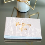 อัลบั้มจุ 50 รูป ลายหินอ่อนสีเทา Grey Marble - The Story of us