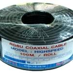 สาย RG-6U PSI HIGH SPEED 100 เมตร ชีลล์ 60% (สีดำ)