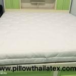 ที่นอนยางพาราแท้เพื่อสุขภาพเกรด A รุ่น Excellent (E) ผ้าควิลท์ รุ่น 5 Queen(5X150X200) 5 ฟุต หนา 5 cm./2นิ้ว (14 Kg.)