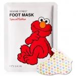 **พร้อมส่ง**It's Skin X Sesame Street Foot Mask Special Edition มาส์กเท้า ช่วยบำรุงผ่าเท้าให้นุ่ม ไม่แห้งกร้าน และที่สำคัญคือเป็นแบบถุงเท้า ใส่ได้เลย ลายคิวท์ๆ มีส่วนผสมของเชีย บัตเตอร์และธัญพืชด้วย ,