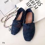 รองเท้าลูกไม้ TOMS (สีกรม)