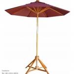ขายโครงร่มไม้ โครงร่มสนาม โครงร่มไม้เนื้อแข็ง ร่มสระว่ายน้ำ ขนาดรัศมี40นิ้ว