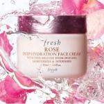 **พร้อมส่ง**Fresh Rose Deep Hydration Face Cream 50ml. ครีมบำรุงผิวเนื้อบางเบาที่พร้อมมอบความชุ่มชื่นให้ผิวได้ยาวนานถึง 24 ชั่วโมง เหมาะเป็นอย่างยิ่งสำหรับผิวธรรมดา-ผิวแห้ง ทำให้ผิวดูมีสุขภาพดี ,