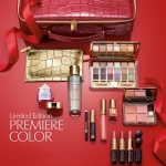 *พร้อมส่ง*Estee Lauder Limited Edtion Premiere Color 2013 Collection หนึ่งปีมีครั้งเดียวกับชุดเมคอัพสุดอลังการ สวยหรูครบเซ็ท 11 ชิ้น พร้อมกระเป๋าสีแดงหรูเลิศมาก ชุดนี้ราคานี้เกินคุ้มเลยค่ะ ,