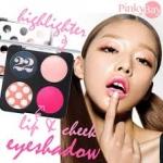 *พร้อมส่ง*Ver.22 Chosungah Viva Hip Girl Kit (Eye Shadow Blush Lip Color Color Palettes ) พาเลทแสนสวย ครบทั้งตา แก้ม และปาก สีไฮไลท์ชมพูอ่อนสวยๆ ในแพคเกจสุดชิค สไตล์ Ver.22 ,
