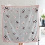 ผ้าพันคอ ลาย Rabbit Family - Grey