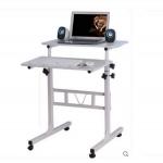 Pre-order โต๊ะทำงานปรับระดับ โต๊ะคอมพิวเตอร์ปรับระดับ โต๊ะพรีเซนต์งาน โต๊ะยืนทำงาน มี 4 สี คือ สีขาว สีขาวนวล สีชมพู สีฟ้า
