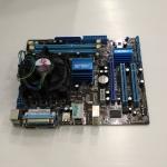 ASUS P5G41T-M LX + CPU intel + พัดลมแท้ + ฝาหลัง