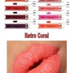 **พร้อมส่ง**Anastasia Beverly Hills Liquid Lipstick # Retro Coral เรียกได้ว่าเป็นลิปสติกเนื้อแมตต์ที่สาว ๆ กรี๊ดกันอย่างบ้าคลั่งตั้งแต่ยังไม่ออกวางขาย เพราะสีสันน่าจับจองเป็นเจ้าของมาก ลิปสติกเนื้อครีมแบบแมทสุดยอด Full Coverage พิกเม้นต์ดี กลบสีปากได้ดี เ