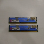 KINGSTON Hyper X DDR-3 4GB. 2X2