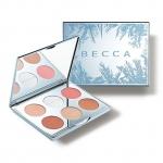 **พร้อมส่ง**BECCA Apres Ski Glow Collection Face Palette (Limited Edition) พาเลทลิมิเต็ดสีเงินดั่งเกล็ดหิมะ รวมไฮไลท์ บรอนเซอร์ และบลัชในเฉดสีที่เข้ากับหน้าหนาวนี้ เม็ดสีติดแน่นทนนาน เหมาะสำหรับผิวทุกประเภท ,