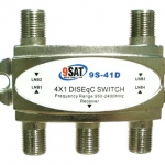 DiSEq C Switch 4x1 9SAT