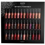 **พร้อมส่ง**NYX Professional Makeup Soft Matte Lip Cream Vault II เซ็ตมินิลิควิดลิปสติกเนื้อแมทที่กระแสดีที่สุดทั่วโลก 36 เฉดสี ในรูปแบบแท่งมินิ mini soft matte lip cream 24 สีขายดี และครั้งนี้มาพร้อมกับ 12 เฉดสีใหม่ที่ไม่เคยปรากฏที่ไหนมาก่อน! ,