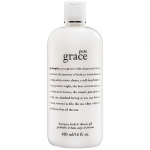 **พร้อมส่ง**Philosophy Pure Grace Shampoo Bath & Shower Gel 480 ml. ค้นพบประสบการณ์อาบน้ำที่หรูหราที่สุด ครีมอาบน้ำ 3 in 1 ขวดใหญ่สุดคุ้ม ช่วยทำความสะอาดอย่างอ่อนโยน ปรับสภาพให้ผิวและเส้นผมนุ่มเนียน ที่การันตีความดีเลิศด้วยรางวัล Winner of Gelshowe ,