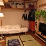 10 เทคนิคการจัดห้องนอนขนาดเล็กในญี่ปุ่่น