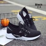รองเท้าผ้าใบแฟชั่นทรง Sport Style Fila (สีดำ)