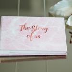 อัลบั้มจุ 50 รูป ลายหินอ่อนสีชมพู Pink Marble - The Story of us
