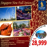 SIN08 SUPERB SINGAPORE NEW FULL OPTION 4DAYS (ก.พ.-ต.ค. 17)