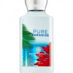 **พร้อมส่ง**Bath & Body Works Pure Paradise Shea & Vitamin E Body Lotion 236 ml. โลชั่นบำรุงผิวสุดพิเศษ กลิ่นหอมหวานสดชื่นๆ แนวทรอปริคอล กลิ่นผลไม้หอมละมุนกลมกล่อม ให้ความรู้สึกผ่อนคลาย แอบเซ็กซี่เล็กๆจ๊ะ แพคเกจสวยน่าใช้มากคะ ,