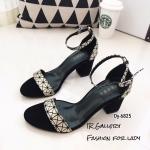 รองเท้ารัดข้อสไตล์ BaoBao (สีทอง)