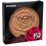 **พร้อมส่ง**Ingrid Bronzing Powder HD Beauty 25 g. แป้งบรอนเซอร์อัดแข็งสีน้ำตาลเนื้อแมทที่สวยจริง ให้ลุคแทนๆ ได้ดีมาก ปัดแล้วประดุจไปอาบแดดที่ชายทะเลเลยทีเดียว สารพัดประโยชน์สามารถนำมาเขียนคิ้ว ทำไฮไลท์จมูก เบ้าตา ปัดแก้ม ช่วยสร้างมิติให้ใบหน้า ,