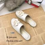 รองเท้าแตะ Style CC (สีขาว)