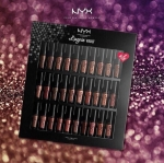 **พร้อมส่ง**NYX Professional Makeup Lip Lingerie Vault #LILPLIVAULT01 เซ็ตมินิลิควิดลิปสติกเนื้อแมทที่กระแสดีที่สุดทั่วโลก 30 เฉดสี รวมทุกสีครบทุกเฉด ทั้งนู้ด ชมพู และน้ำตาล พร้อมด้วย 6 เฉดสีลิมิเตทที่หาไม่ได้จากเซ็ตอื่น ,