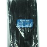 CABLE TIES สีดำ ขนาด 3.6X200 ม.ม. (8 นิ้ว)