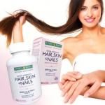 **พร้อมส่ง**Nature's Bounty Optimal Solutions Extra Strength Hair Skin and Nails 250 Softgels วิตามินบำรุงผมดกหนา เงางาม ผิวกระจ่างใส เล็บแข็งแรง ช่วยรักษาสุขภาพเส้นผม ป้องกันผมหงอก ผมร่วง และรากผมอ่อนแอ ให้ผิวกระจ่างใสและสดใสดูอ่อนกว่าเยาว์ ป้องกันแ