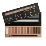 **พร้อมส่ง**L.A. Girl Beauty Brick Eyeshadow Palette Collection #Nude โทนสีนู้ดน้ำตาลธรรมชาติ อายแชโดว์พาเลทสำหรับคนชอบแต่งหน้าโทนสีนู้ด เอิร์ธโทน โทนสีธรรมชาติ แต่งหน้าไปทำงาน ไปเรียนแต่งได้ทุกวัน เป็นโทนสีที่แต่งง่ายและนิยมใช้กันมากที่สุด มีโทนสีนู้ดให้