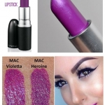 **พร้อมส่ง**MAC Amplified Lipstick #Violetta สีม่วงเข้มไวโอเล็ต สุดเซ็กซี่ เนื้อครีมเข้มข้นสีชัดเจน มีเกร็ดประกายโดดเด่น สัมผัสถึงสีสันที่ชัดเจน กับลิปสติกเนื้อครีมเข้มข้น นุ่มลื่นทาง่าย สร้างสรรค์ริมฝีปากให้โดดเด่น ดูสดใสพร้อมความคงทน มอบความชุ่มชื่น เติ