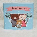 """อัลบั้ม 100 รูป (4x6"""") ลายครอบครัวหมี - สั่งทำใส่ชื่อ"""